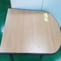 U형 테이블(3발, 망비)