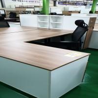 사무용 책상 세트 (책상+사이드책상+옷장)