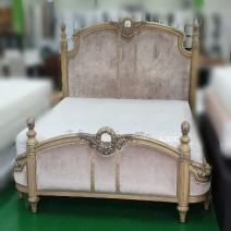 엔틱풍 침대 (칼킹사이즈 1900*2000) - R021301