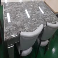 대리석 4인 식탁 -R061902 /의자2개포함