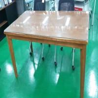 원목테이블/유리포함