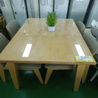 4인 원목식탁 (의자 4개 포함)