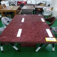 대리석 4인 식탁 (의자 별매)