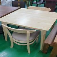 원목 2인식탁/의자2개포함