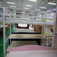 에보니아 철재 벙커 침대