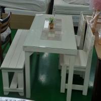 4인식탁세트/의자2+벤치의자  (21072424)
