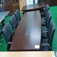 중역 회의 테이블 세트 / 의자6개포함 (21082401)